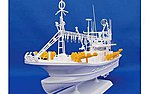 Squid Fishing Boat -- Plastic Model Commercial Ship Kit -- 1/64 Scale -- #50309