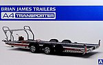 1/24 Brian James A4 Transporter Trailer (New Tool)