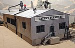Cathy's Furniture Factory Kit -- HO Scale Model Railroad Building -- #1901