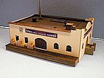 Sunkist Citrus Exchange Mission Style Building w/Dock Kit -- HO Scale Model Railroad Building -- #83