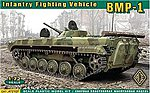 Soviet BMP1 Infantry Fighting Vehicle (Re-Issue) -- Plastic Model Military Vehicle -- 1/72 -- #72107