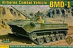 BMD1 Airborne Combat Vehicle -- Plastic Model Military Vehicle -- 1/72 Scale -- #72114