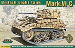 British Mk VIc Light Tank -- Plastic Model Military Vehicle Kit -- 1/72 Scale -- #72292