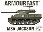 M36 Jackson Tank (2) -- Plastic Model Tank Kit -- 1/72 Scale -- #99025