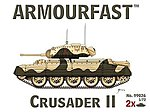 Crusader II Tank (2) -- Plastic Model Tank Kit -- 1/72 Scale -- #99026