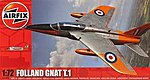 Folland Gnat -- Plastic Model Airplane Kit -- 1/72 Scale -- #01006