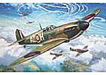 Supermarine Spitfire Mk I Aircraft -- Plastic Model Airplane Kit -- 1/72 Scale -- #01071