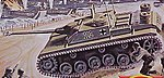 Assault Gun -- Plastic Model Military Vehicle Kit -- 1/76 Scale -- #01306