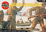 WWII British Commandos Figure Set -- Plastic Model Military Figure Kit -- 1/72 Scale -- #01732