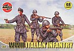 WWII Italian Infantry -- Plastic Model Military Figure -- 1/72 Scale -- #01757