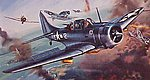 Douglas Dauntless SBD 3/5 -- Plastic Model Airplane Kit -- 1/72 Scale -- #02022