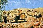 Pkw.K1 Type 82/Sd.Kfz.222 German Recon 2-Pk -- Plastic Model Military Vehicle Kit -- 1/76 -- #02312