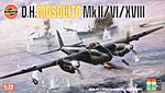 DEHVLND MOSQUITO MK -- Plastic Model Airplane Kit -- 1/72 Scale -- #03019