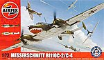 Messerschmitt Bf 110C-2/C-4 -- Plastic Model Airplane Kit -- 1/72 Scale -- #03080