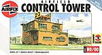 RAF Control Tower Airfield Set -- Plastic Model Diorama All Scale Kit -- 1/76 Scale -- #03380