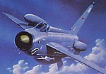 EE Lightning F2A/F6 Aircraft -- Plastic Model Airplane Kit -- 1/48 Scale -- #09178