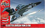 Gloster Javelin -- Plastic Model Airplane Kit -- 1/48 Scale -- #12007
