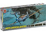P51K/RF Mustang Fighter (Re-Issue) -- Plastic Model Airplane Kit -- 1/24 Scale -- #14003