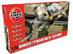 Hawker Typhoon Mk 1b (Car Door) Fighter -- Plastic Model Airplane Kit -- 1/24 Scale -- #19003