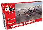 Factory BE2C Scout Recon RAF Biplane -- Plastic Model Airplane Kit -- 1/72 Scale -- #2104