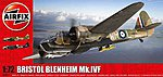 Bristol Belnheim Mk IV Fighter (New Tool) -- Plastic Model Airplane Kit -- 1/72 Scale -- #4017