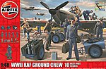 WWII RAF Ground Crew -- Plastic Model Military Figure -- 1/48 Scale -- #4702