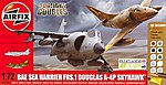 Dogfight Double A-4/Harrier FRS-1 -- Plastic Model Airplane Kit -- 1/72 Scale -- #50134