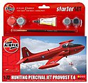 1/72 Hunting T3 Percival Jet Provost Aircraft w/paint & glue