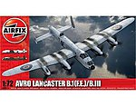 Acro Lancaster B I(FE)/B III Bomber -- Plastic Model Airplane Kit -- 1/72 Scale -- #8013