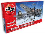 Boeing B17G Flying Fortress USAAF Bomber (New Tool) -- Plastic Model Airplane Kit -- 1/72 -- #8017