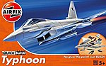 Typhoon Fighter -- Quick Build -- Snap Tite Plastic Model Aircraft Kit -- #j6002