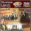 Historic Collage- Abraham Lincoln Triumph & Tragedy -- Jigsaw Puzzle 600-1000 Piece -- #95360