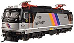 AEM-7/ALP-44 NJ Transit #4409 -- HO Scale Model Train Electric Locomotive -- #10001675