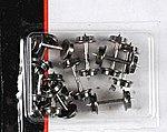 9022133 33 Metal Wheels (12) -- N Scale Model Train Trucks -- #22133