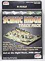 Code 80 Scenic Ridge Track Pack (for WOOU0482) -- N Scale Nickel Silver Model Train Track -- #2588
