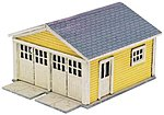 Two Car Garage for Kate's Colonial Home -- N Scale Model Railroad Building -- #2880