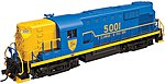 Alco RS-11 D&H 5001 DCC -- N Scale Model Railroad Locomotive -- #40002619