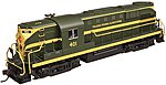 Alco RS-11 TP&W #401 DCC -- N Scale Model Railroad Locomotive -- #40002628