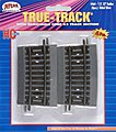 Code 83 1/3-22'' Radius Curve Section pkg(4) -- HO Scale Nickel Silver Model Train Track -- #464