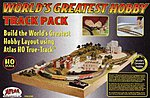 World's Greatest Hobby Track Pack w/Video -- HO Scale Nickel Silver Model Train Track -- #489