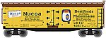 40' Wood Reefer Nucoa Products URTC #40680 -- N Scale Model Train Freight Car -- #50001267