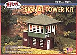 Signal Tower Kit -- HO Scale Model Railroad Building -- #704