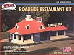 Roadside Restaurant Kit -- HO Scale Model Railroad Building -- #760