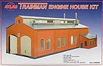 TM Structure Kit Engine House -- O Scale Model Railroad Building -- #2009001