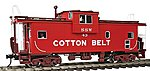 Extended-Vision Caboose - 2-Rail Cotton Belt SSW -- O Scale Model Train Freight Car -- #3002252