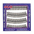 Nickel Silver Rail 3-Rail - Starter Set -- O Scale Model Railroad Track -- #6001