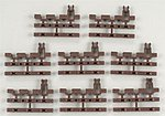 3-Rail - End Snap Section -- O Scale Nickel Silver Model Train Track -- #6057