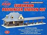 Passenger Station Kit -- O Scale Model Railroad Building -- #6901