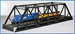 Double Track Pratt Truss Bridge Kit - 3 Rail -- O Scale Model Railroad Bridge -- #6921