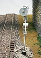 Type ''SA'' Searchlight Signal 3-Rail Single -- O Scale Model Railroad Trackside Accessory -- #6932